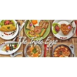 The Triple Eggs ร้านอยู่บนดาดฟ้า