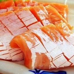 ซาซิมิท้องปลาแซลมอน