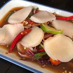 หอยเชลล์นั้วนัว (ไม่ร้า)