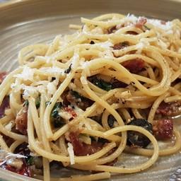 Spagetti Olio Bacon