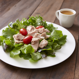Tuna Salad with Herb Vinaigrette Dressing