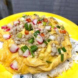 ข้าวไข่เจียวพุงกาง