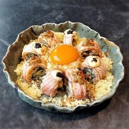 Salmon Shoyu Tama Roll