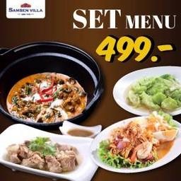 Set menu 499