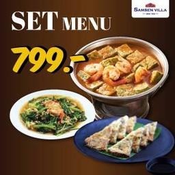 Set menu 799