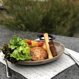 Fritter salmon