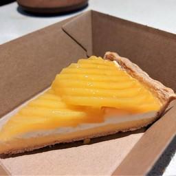 Mango passionfruit cream pie