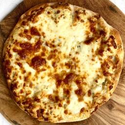 10-inch พิซซ่าทรัฟเฟิล (อาหารมังสวิรัติ)