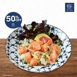 ลด 50% Salmon Tataki