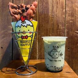 Ketoru Cafe & Maru Waffle