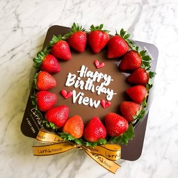 Strawberry around larna cake 2 pound