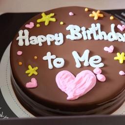 Larna Cake 1 pound (Heart&Star Decoration)