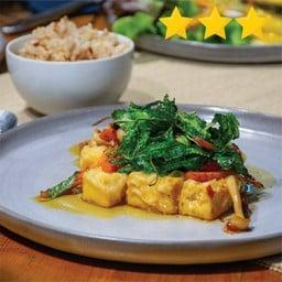 Tofu Gaprao with Brown Rice 99
