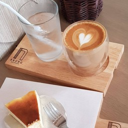 Latte & Cheese Basque Burnt Cake