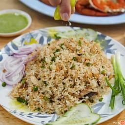 อารมณ์เหมือนกินข้าวยำที่มีรสเค็มธรรมชาติของปลาทูมาทำให้มันกล่อมกล่อมดีเหลือเกิน