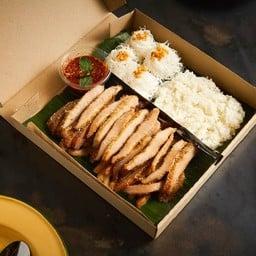 ราชาคอหมูย่าง LINE MAN Kitchen ปทุมวัน