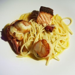 Seafood Spaghetti Olio