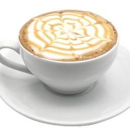 Hot Caramel Cappuccino
