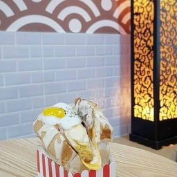 Tama-go たまご Cheesy Egg Sandwich Tamago Hatyai