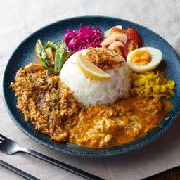 Chicken Lemon Curry & Spice Keema Curry
