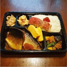 ปลาซาบะต้มมิโซะ เบนโตะ