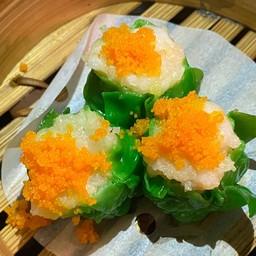 Streamed shrimp dumpling