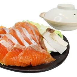 ชาบูปลาแซลมอน