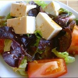 Tofu Vinegar Shoyu Salad