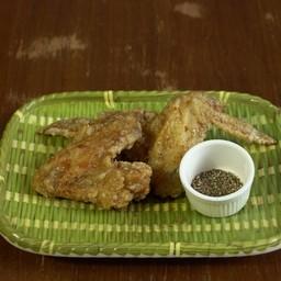 ปีกไก่ทอด ซอสโชยุเผ็ดหวาน 2pcs