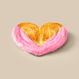 Pink Butterfly Biscuit