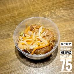 ปลาคิบินาโกะหมักน้ำส้ม
