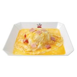 ข้าวไข่ข้นหมูแดง