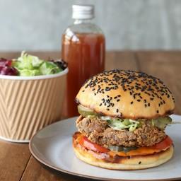 Chicken Burger Set