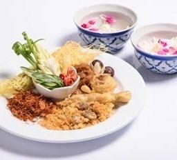 ข้าวแช่ชาววัง Authentic Thai Kao Chae A favorite summer dishes