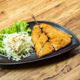 ปลาทูชุปเกล็ดขนมปังทอด