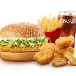 ลด 37% ชุดเบอร์เกอร์ไก่จัดเต็ม
