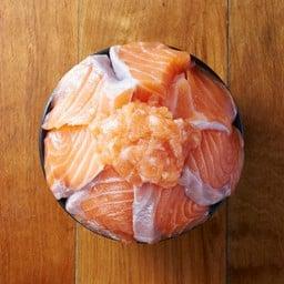 Aburi salmon teriyaki don