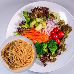 Vegetable Salad Spaghetti