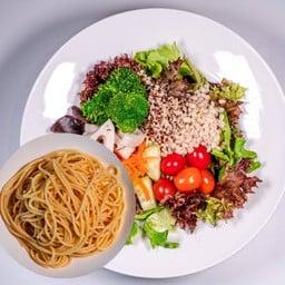 Grain Salad Spaghetti(Vegan)