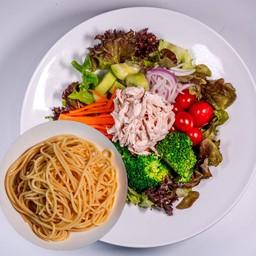 Chicken Breast Salad Spaghetti