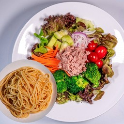 Tuna Salad Spaghetti