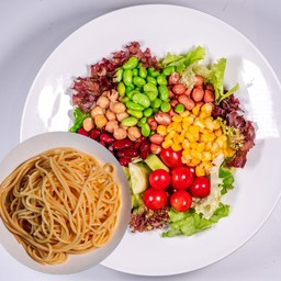 Beans Salad Spaghetti(Vegan)