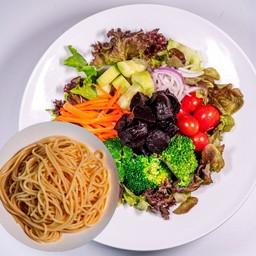 Beetroot Salad Spaghetti