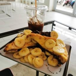 Nuttela Banana Toast
