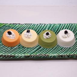 พุดดิ้งรสชาเขียวจากเกียวโต