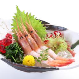 กุ้งหวานญี่ปุ่น ซาซิมิ