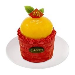 ริชชี่ ออเร้นจ์ เค้ก 3 นิ้ว (ครึ่งปอนด์) - (สินค้าใหม่)