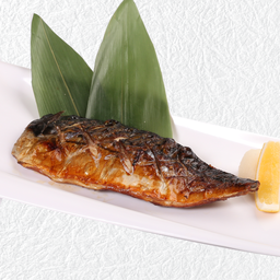 ปลาซาบะย่างเกลือหรือซีอิ้ว
