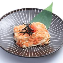 เส้นอินานิวะ ผัดซอสไข่ปลาค๊อต