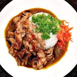 โต๋เต๋ข้าวมันไก่ ข้าวแกงกะหรี่ Foodie Market ราม 2